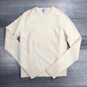 Madewell Wallace sweater knit lambs wool pullover